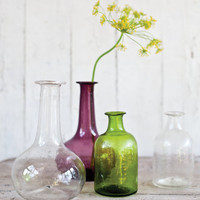 Two Glass Vases - NEW ? Cox & Cox, the difference between house and home.