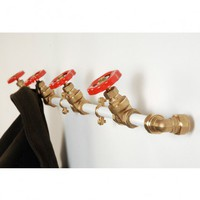 Coat Rack Single / Pipework Series from Nick Fraser | Made By Nick Fraser | £78.00 | Bouf