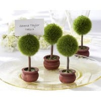 Kate Aspen Topiary Place Card Holder