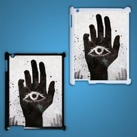 The Eye and Hands Illuminati Custom iPad 3 Case Cover