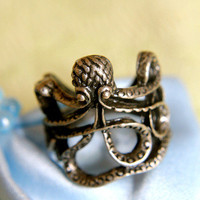 Lucky Brass Octopus | Trinkettes