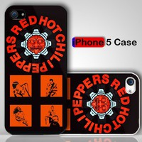 Red Hot Chili Peppers Custom iPhone 5 Case Cover