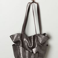 Metallic Ballet Tote