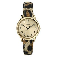 Timex® Animal Print Watch - Baroque Gold