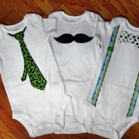 "Baby Boy Onesuit Collection ""The Ryan Collection"""