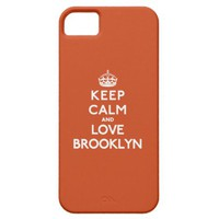 Keep Calm and Love Brooklyn iPhone 5 Case from Zazzle.com