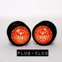 Andre the Giant in Red Fake Plugs by Plug-Club