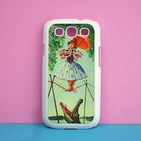 Samsung Galaxy S3 case --  Haunted Mansion Stretching Painting, Samsung galaxy S3 case in plastic hard ,color in black or white or clear