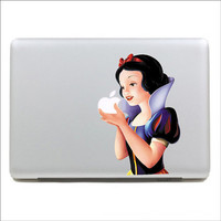 Apple decal  macbook sticker Color Snow White Mac Book Mac Book Air Mac Book Pro Mac Sticker Mac Decal Apple Decal Mac Decals