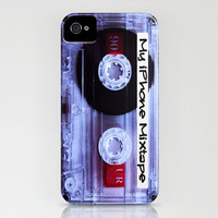 Iphone Mixtape Cassette iPhone Case by Nicklas Gustafsson | Society6