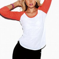 Long-sleeve Baseball Tee
