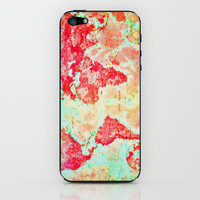 Oh, The Places We'll Go... iPhone & iPod Skin by Ally Coxon | Society6