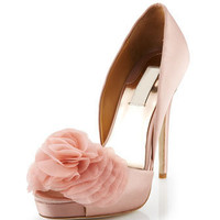 Badgley Mischka - Luxor Satin d'Orsay, Rose - Last Call