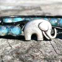 Elephant Bracelet, Good Luck Elepha.. on Luulla