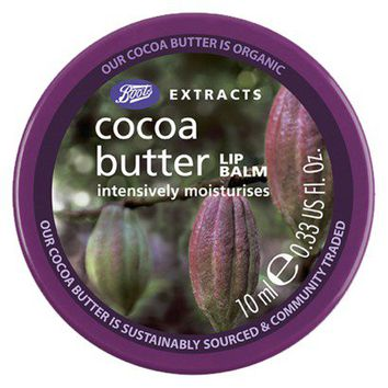 Boots Extracts Cocoa Butter Lip Balm