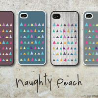 iPhone 4, 4S Case - Triangles