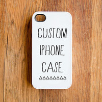 Custom Make Your Own iPhone 4 Case Unique Personalized New iPhone 4s