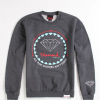 Diamond Supply Co Ain't Gold Crew Fleece at PacSun.com