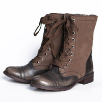 brett ashley side zipper lace up boot - $69.99 : ShopRuche.com, Vintage Inspired Clothing, Affordable Clothes, Eco friendly Fashion