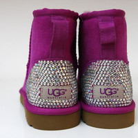 customised bling ladies Ugg boots