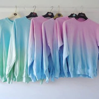 Dip Dyed Noodies TWO COLORS