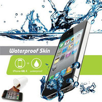 iOttie Water Proof Skin for iPhone 4S & 4 - 100% Water Protection Case - 2 Pack