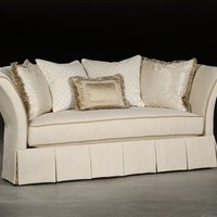 High End Upholstered Furniture, Sleek Sofa