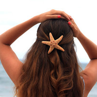 Starfish Barrette