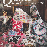 Quilting Book - Quilts From Grandma's Attic