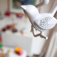 Chick-a-Dee Smoke Detector by Louise van der Veld for The Initiator & Co. - Free Shipping