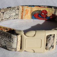 Marvel Comics Dog Collar Vintage Covers Size Extra Small, Small, Medium or Large