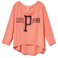 Victoria&#x27;s Secret Pink Dolman Tee