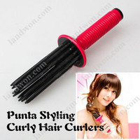 V5802 New Wavy Hair Curler Curling Tong Hair Airy Curling DIY Design Styler Too