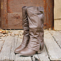 Indian Creek Cuffed Brown, Rugged Boots & Shoes