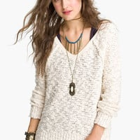 Free People &#x27;Songbird&#x27; Sheer Sweater | Nordstrom
