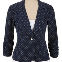 Pin Dot Blazer