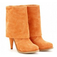 CASADEI 110MM CALF FOLD OVER BOOTS