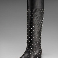 Christian Louboutin Spiked Boot $273,distinguished shoes brand on-line shop, such as louboutins,euchristianlouboutinshoes,uschristianlouboutinshoes.