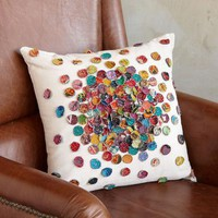GUDARI SARI MOSAIC PILLOW        -                Pillows & Throws        -                Decor        -                Furniture & Decor                    | Robert Redford's Sundance Catalog