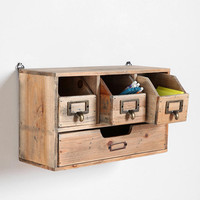 Reclaimed Wood Organizer