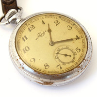 RAREST Kirovskie Antique Russia pocket watch 1938 old pocket watch