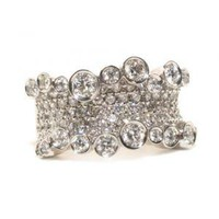 Medium Corset Diamond Ring