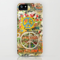 All You Need is Love - The Beatles - Imagine - John Lennon - Peace Sign iPhone Case by Tara Holland  | Society6