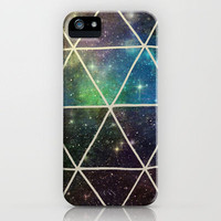 Space Geodesic iPhone Case by Terry Fan | Society6