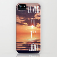 Lover Of The Light iPhone Case by Ally Coxon | Society6
