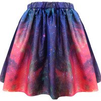 Milky Way Galaxy Skirt