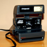 Vintage One Step Polaroid Instant Camera 600 Film 1970s
