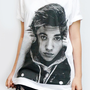 JUSTIN BIEBER New Star R&B Pop Rock Shirt White T-Shirt Women Shirt Women T-Shirt Men T-Shirt Unisex T-Shirt Screen Print Tee Shirt Size L