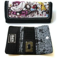 LOUNGEFLY DISNEY ALICE IN WONDERLAND LITTLE MAD WALLET | eBay