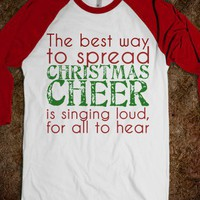 Elf Singing shirt